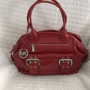 Michael Kors Red Patent handbag/purse